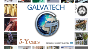 15th March 2016 5-year anniversary GALVATECH
